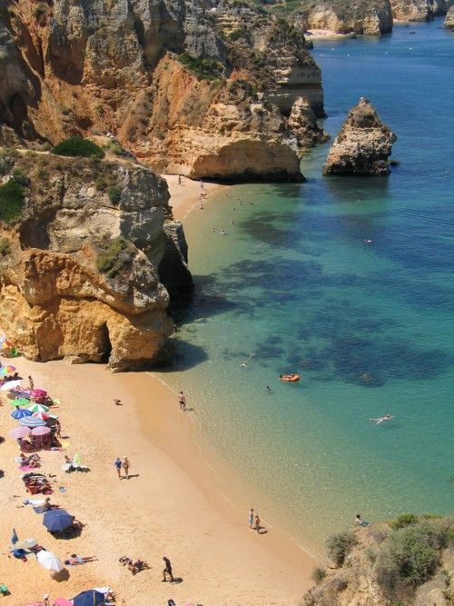 Lagos, Portugal. Possibly the best week I've ever had! http://www.flyabs.com/blog/african-best-beaches/