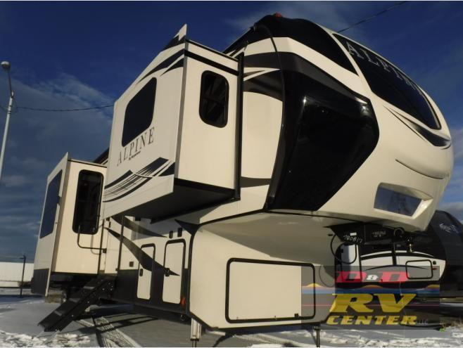 New 2019 Keystone Rv Alpine 3700fl Fifth Wheel At D D Rv Center