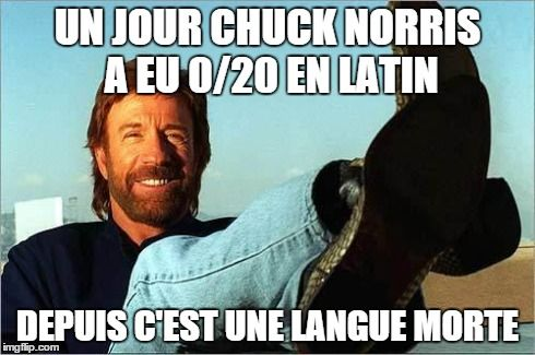Top 21 des meilleures blagues sur Chuck Norris                              …                                                                                                                                                                                 Plus