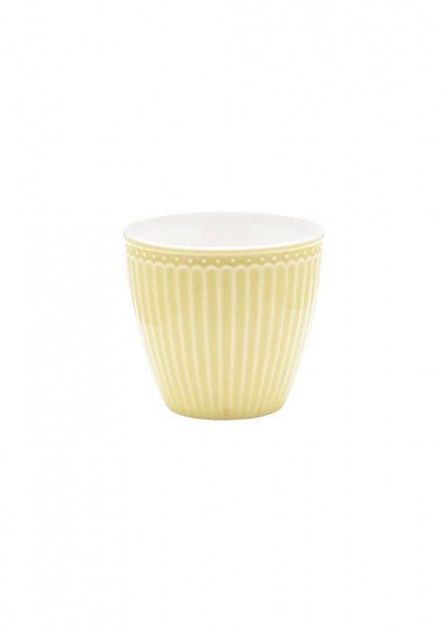 Latte Cup Alice pale yellow
