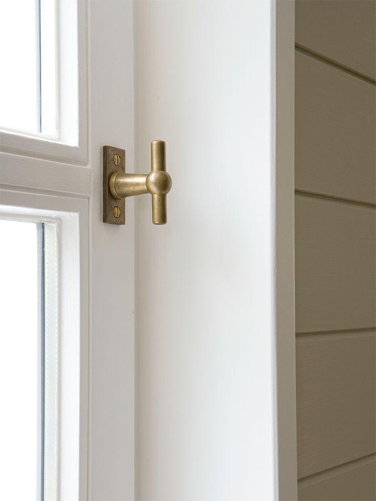 Chemin De Fer, the original Belgian window handle made by Lerou.