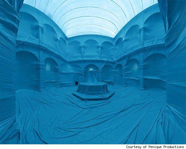 Penique Productions Color-wraps Buildings, Beautiful.