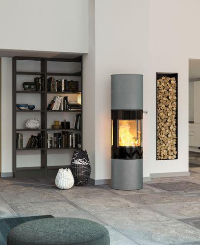 Die besten 25+ Moderne Kaminöfen Ideen auf Pinterest Holzöfen - wohnzimmer modern mit ofen