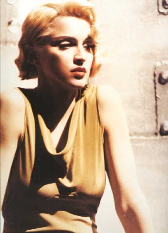 Madonna, from the video for Express Yourself by David Fincher