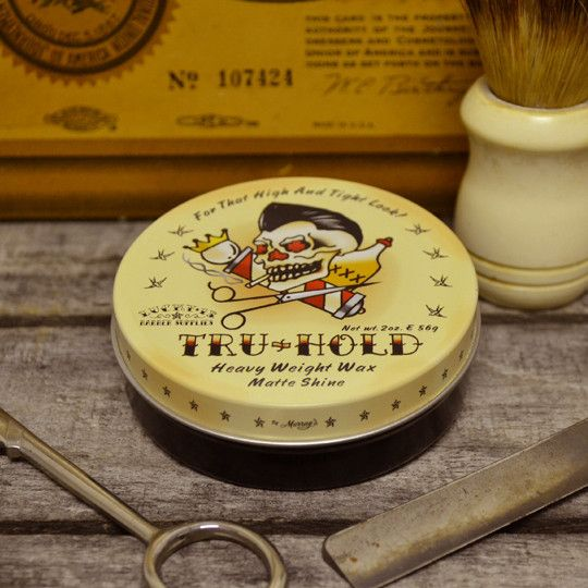 Lucky 13 Tru-Hold Pomade - Strong Hold Oil Based Pomade – Pomade.com - One Stop Pomade Shop