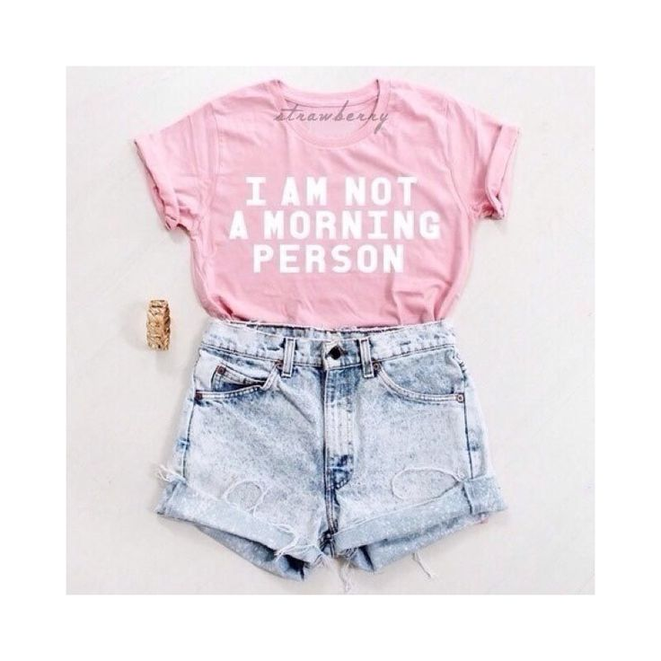 Morning Person Pink T-Shirt