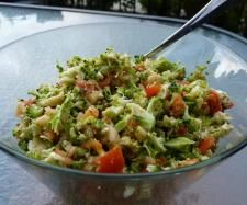 Recipe Broccoli & capsicum salad by Yummy Thermie - Recipe of category Side dishes