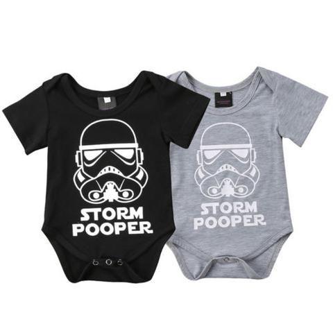 0481cae2c 2018 Summer Baby Boy Girl Star Wars Romper Outfits Newborn Clothes 0 ...