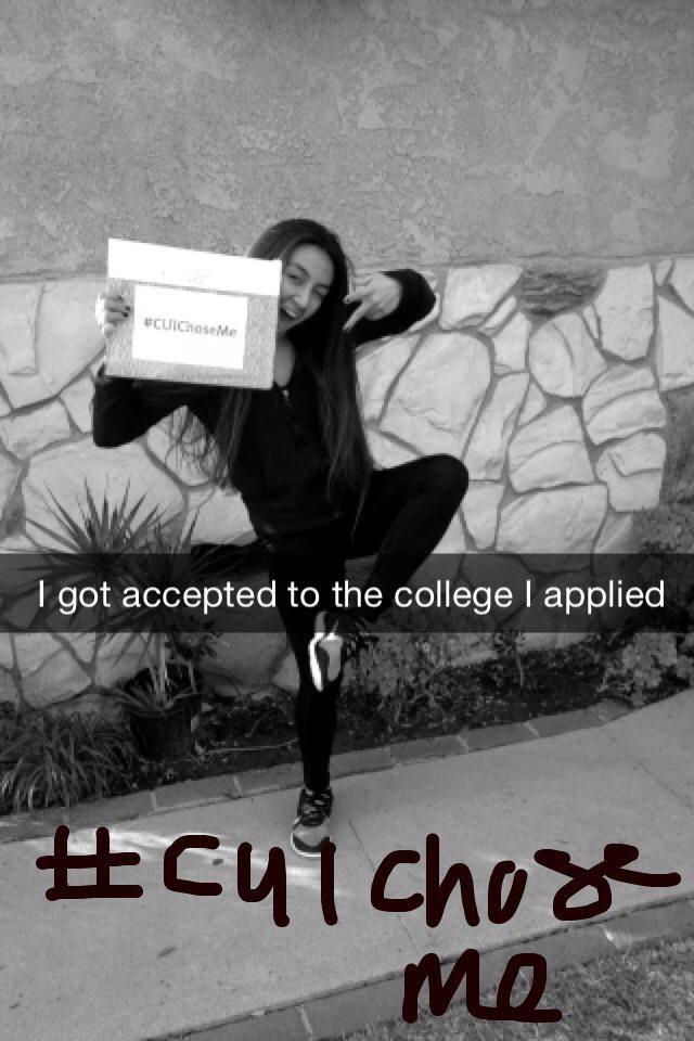 Got accepted into Concordia University CUIChoseMe 51