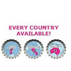 Choose your country for Girl Scout World Thinking Day then choose these SWAPs to trade at your event. Every country available for your International celebration. Available at MakingFriends.com.