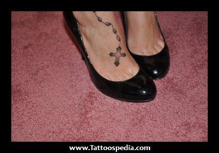 Rosary Foot Tattoos Tumblr - Tattoospedia