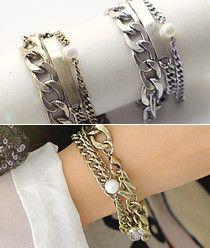 Triple M Key Point Chain Bracelet