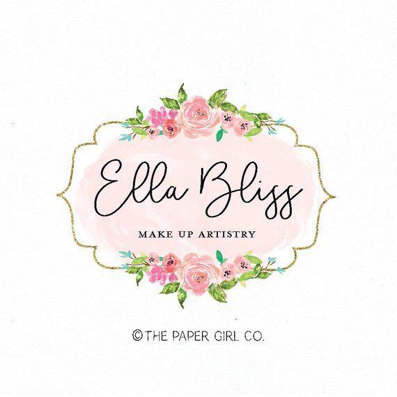 Make up artist logo, beauty logo, nail salon logo, photography logo, hair stylist logo, wedding planner logo, event planner logo, party logo