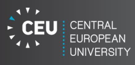 Scholarships for postgraduate studies at the Central European University 2018  More information:https://goo.gl/YAHqMQ