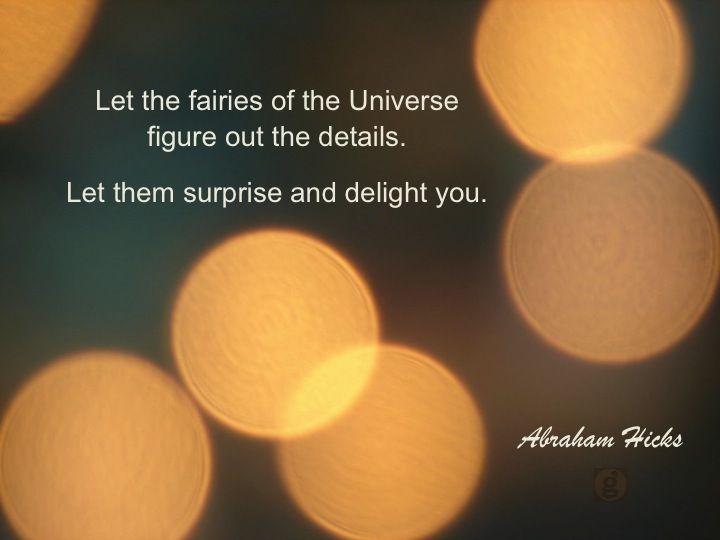 #abrahamhicks #theuniverse #fairies