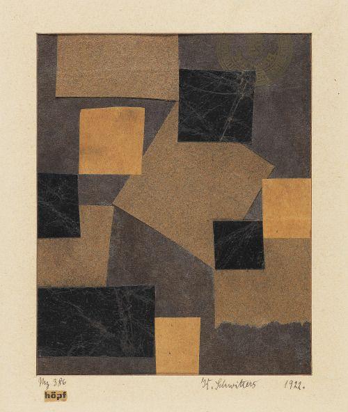 workman's tumblr - thirdorgan: Kurt Schwitters (Germany, 1887 - 1948)...