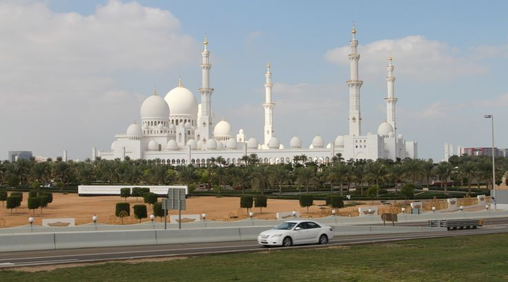 """Reporter Jaap: """"De Grote Moskee van Abu Dhabi, een sprookje."""""""