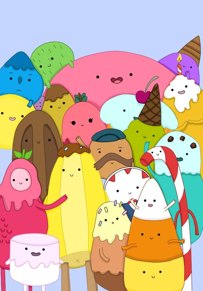 Adventure Time, Land of Ooo candy people