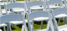 WHITE PADDED EVENT CHAIR FOR HIRE AVA PARTY HIRE http://www.avapartyhire.com.au/product/chairs-for-hire Call us on 9938 5599 for a quote