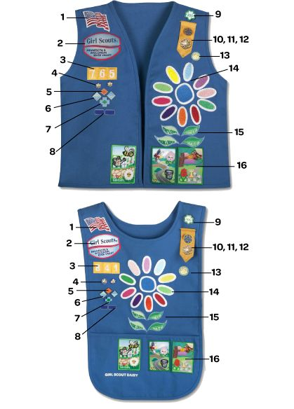 daisy girl scouts patches - Google Search