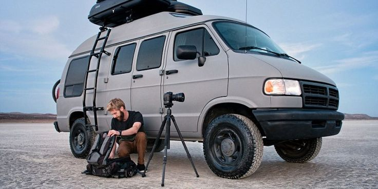 Dude turns grandma's 1994 Dodge Ram van into a badass road tripping machine an takes killing Instagram pictures ever since.