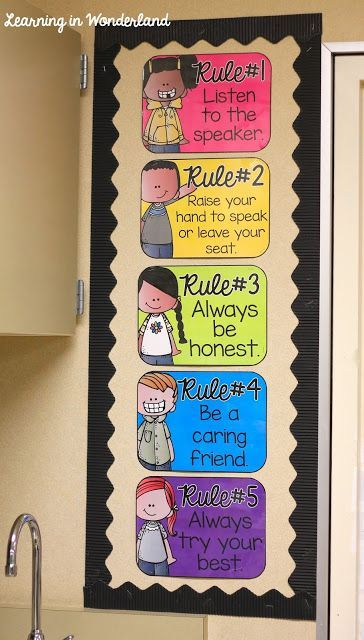 Classroom Rules Decor ~ Top ideas about classroom rules display on pinterest