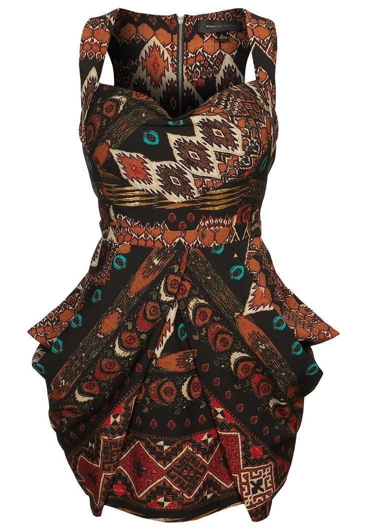 Robe de soirée – mehrfarbig #kleid