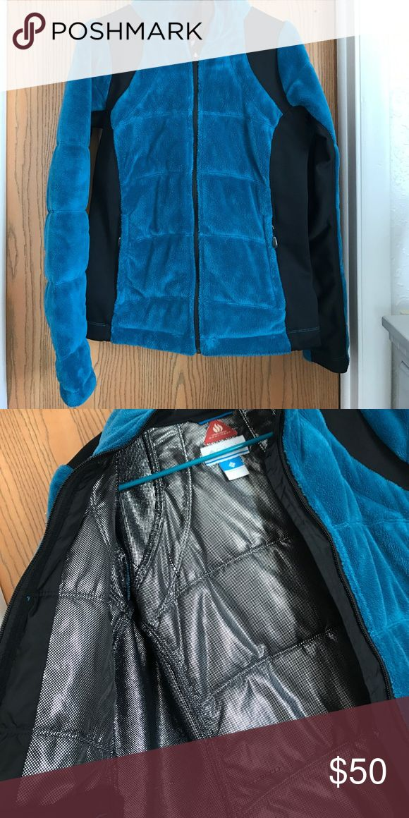 Columbia thermal comfort Soft blue, great condition Columbia Jackets & Coats