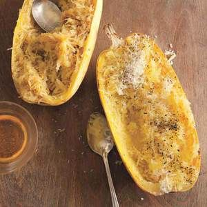 Brown sugar and butter Spaghetti Squash - This is seriously so good. A fall & winter staple.