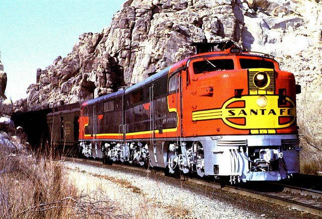 Santa Fe Alco PA1 Diesel Locomotives.