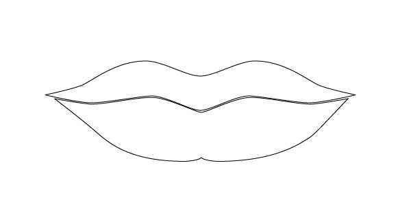 Mouth Template Printable Free Printable Clip Art Template Printable Lip Stencil
