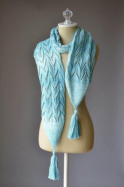 Free Lace Scarf Knitting Patterns