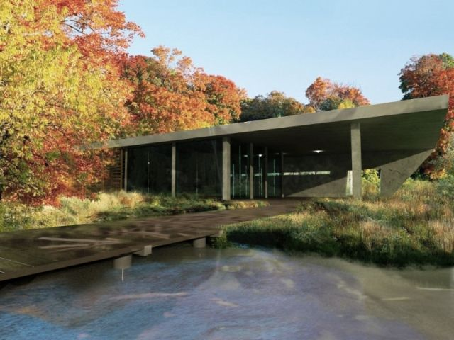 house by the lake concept; project: make Architekci