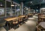 Стильный дизайн -проект ресторана быстрого питания Scarpetta, Лондон