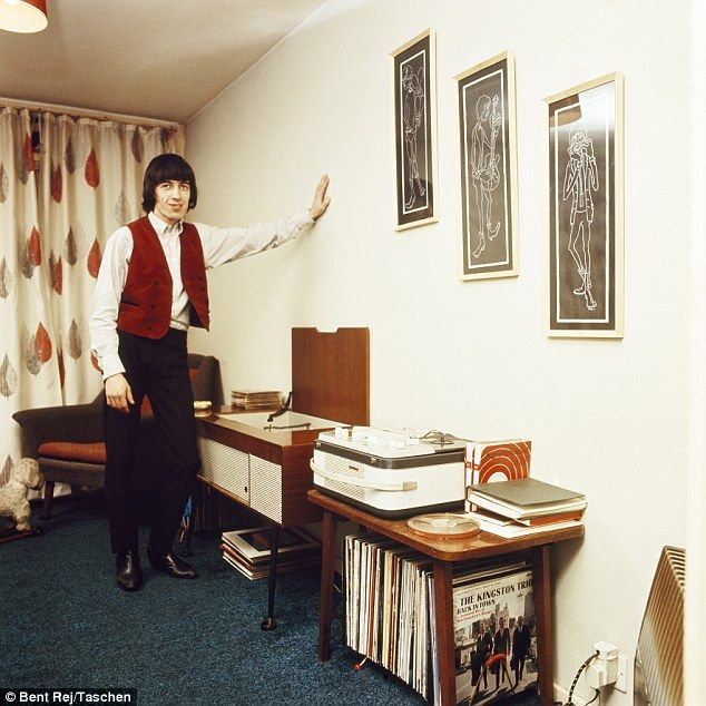 Bill Wyman, pictured, lived in a flat above his family's car dealership in Penge, near Bromley, Kent