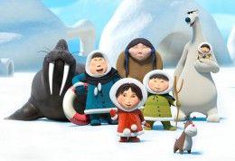 Eskimáčka - rozprávka