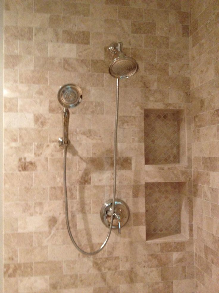 Bathroom Ideas Travertine 24 best marbles - emperador/creama marfil images on pinterest