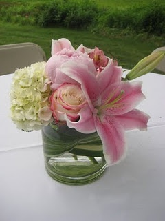 Another simple girly centerpiece