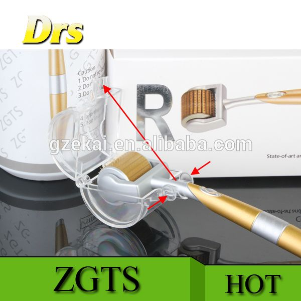 China manufacturer directly selling DRS gold plate zgts derma roller with best price for skin care