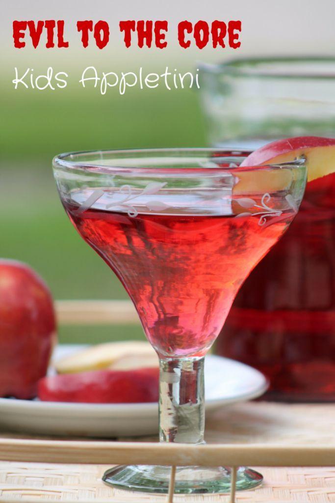 Disney Descendants Evil To The Core Kid's Appletini Drink