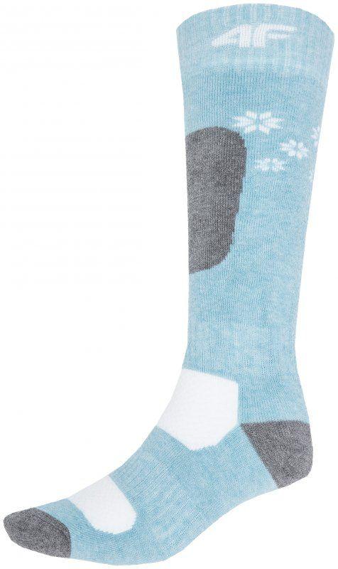 Komfort i wsparcie.   Skarpety narciarskie dla dziewczynek wykonane z miękkiego w dotyku materiały wysokiej jakości. Zagwarantują odpowiednie wsparcie podczas zimowych aktywności.