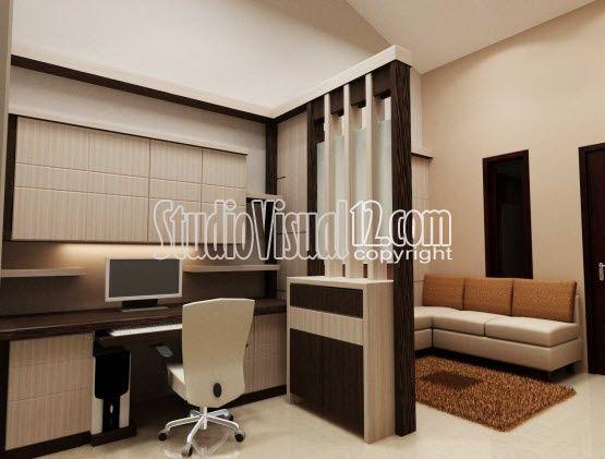 Desain Partisi Ruangan Untuk Rumah Kecil Minimalis