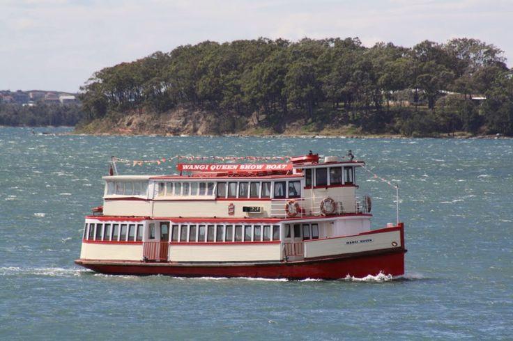 Wangi Queen, a Lake Macquarie icon!
