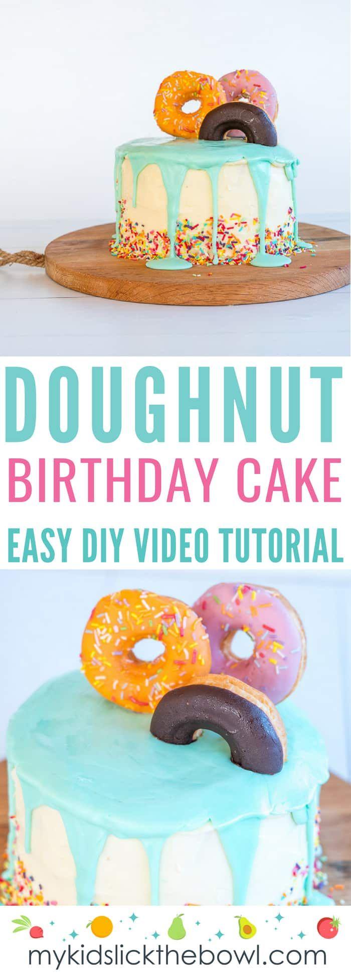 Einfache DIY Geburtstagstorte Ideen für Kinder-Video-Tutorials