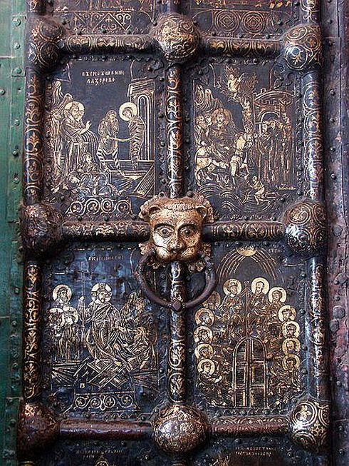 Golden Doors, Cathedral of the Nativity, Suzdal, Russia