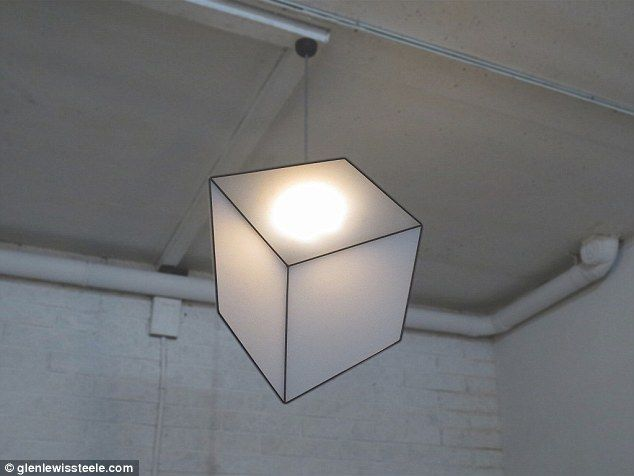 Apart from seeing an artistic lighting design, you will experience an optical illusion bec...