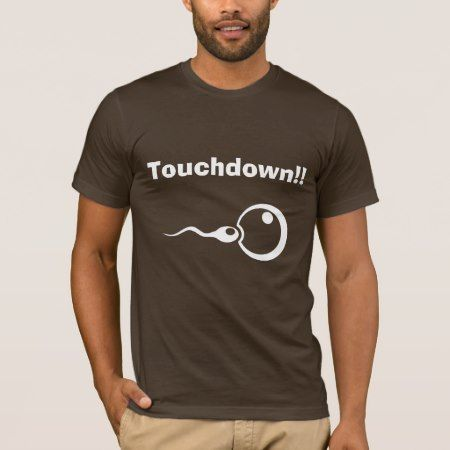 Touchdown!! Cool dad to be shirt - tap to personalize and get yours