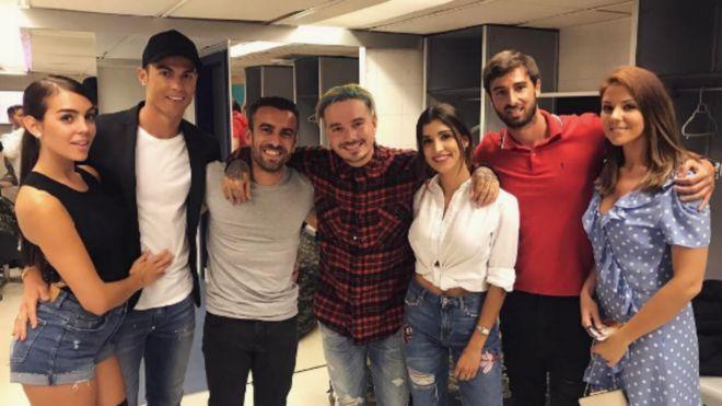 Cristiano y Georgina Rodríguez acudieron juntos al concierto de J ...
