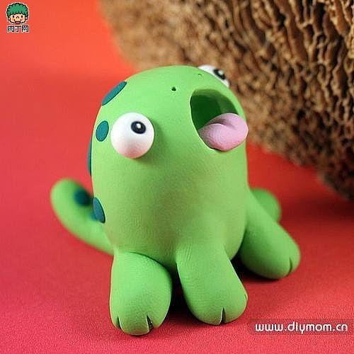 Plasticine DIY-pinch monster! - Creative Living, handmade the diced network ╭ ★