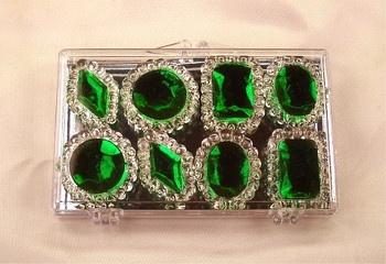 Emerald Green Edible Jewels